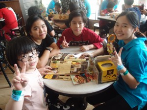 lunch with kids
